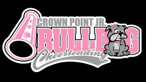 Crown Point Jr. Bulldog Cheerleading Logo