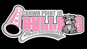 Crown Point Jr. Bulldog Cheerleading Logo